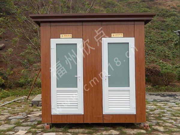 福州移动厕所厂家:移动公厕解决传统公共洗手间难题