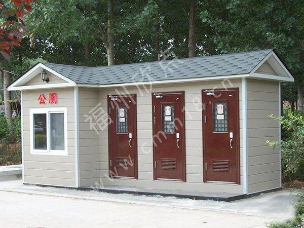 景区移动公厕提升旅游景点的体验感