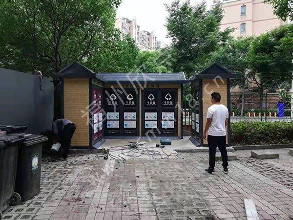 福州垃圾房厂家:小区分类垃圾房位置摆放规范要求